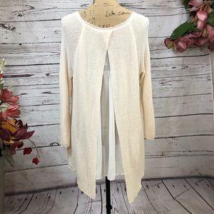 Anthropologie-Moth-French Quarter-Cream Sweater